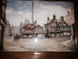 Painting of the former site of James Thomson & Sons Ltd