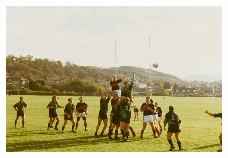 Boroughmuir RUFC, Meggetland Playing Fields, Edinburgh