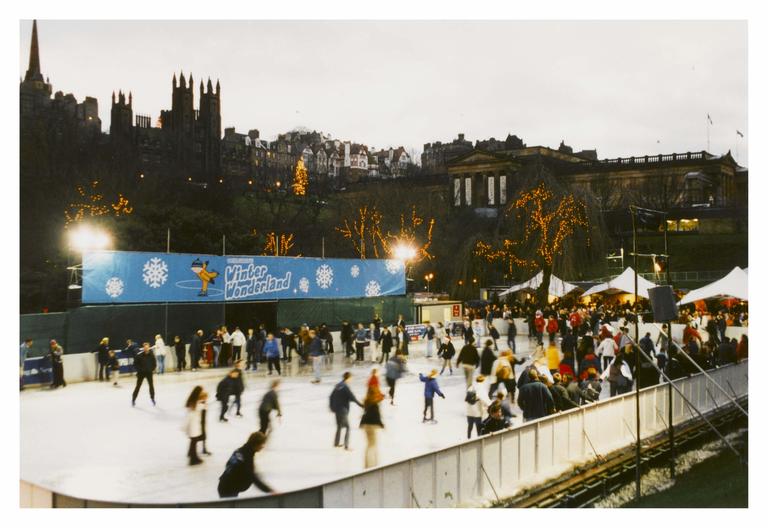 Christmas Festival, Princes Street Gardens