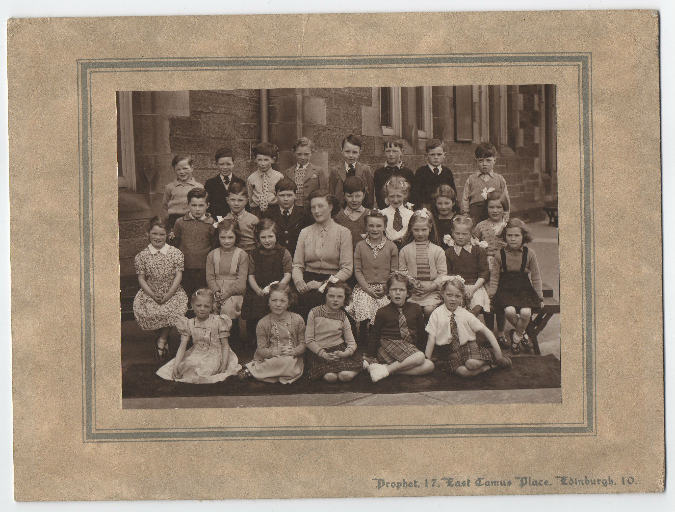 Kathleen Glancy's class photograph from P1