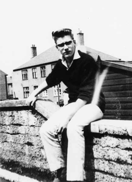 Sitting On The Garden Wall 1961