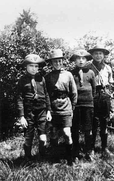 Boy Scouts 1930s