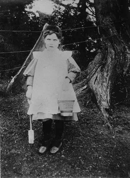 Girl With Bucket And Spade 1908