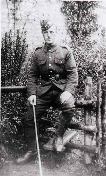 Soldier Of The Royal Scots (Lothians Brigade) c.1914