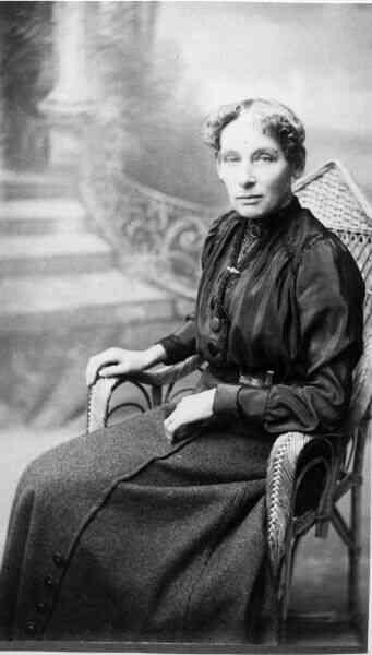 Studio Portrait Woman 1880s