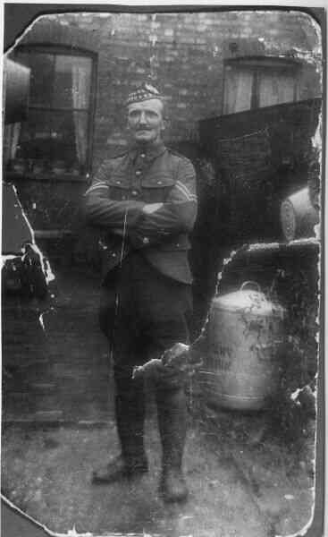 Sergeant Of The Gordon Highlanders c.1916