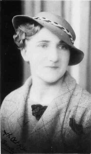 Studio Portrait Young Woman 1936
