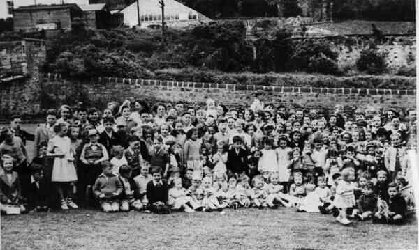 Outing To Spylaw Park 1946