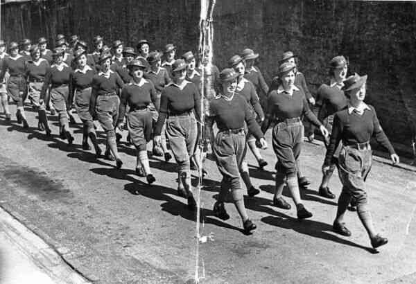 Women's Land Army Parade 1943