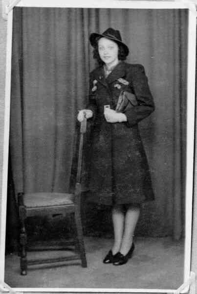 Studio Portrait Young Woman 1949