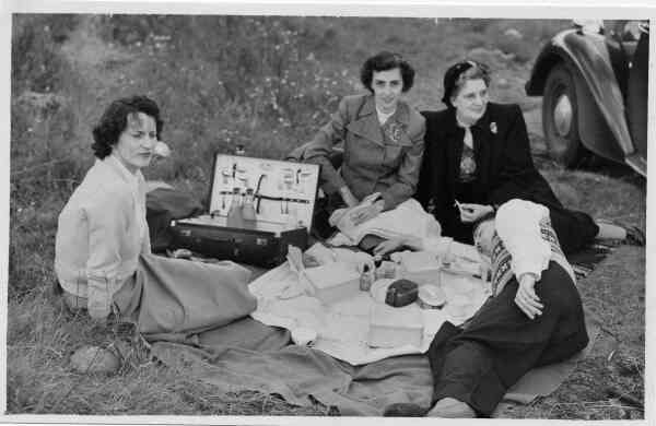 Family Picnic, late 1940s