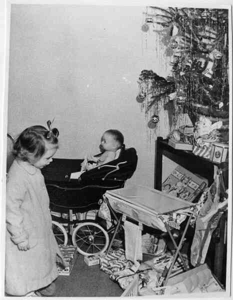 Christmas Day Presents, early 1950s