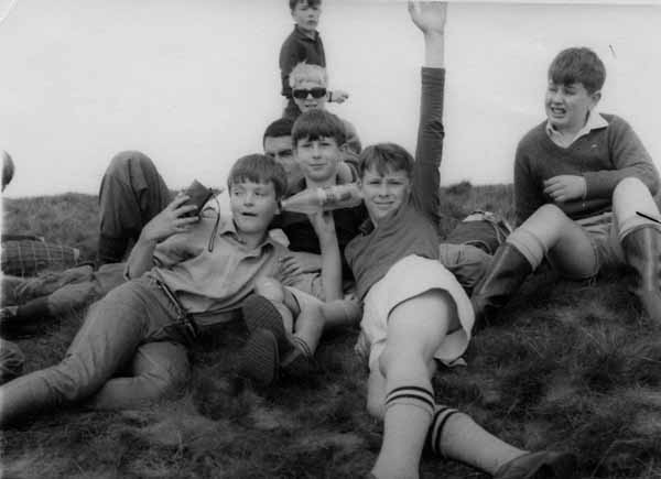 Boys In Holyrood Park 1967