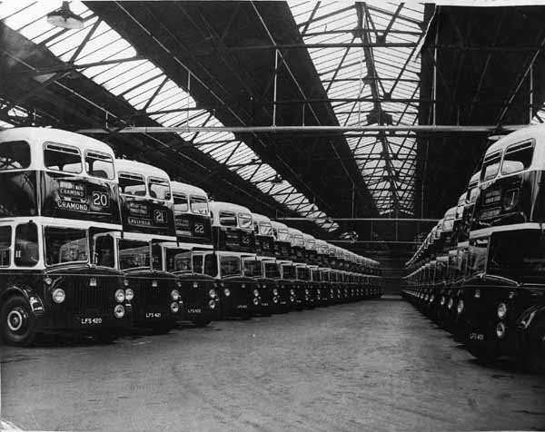 Bus Depot 1960