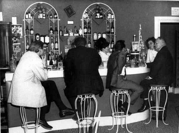 Hotel Bar, late 1960s
