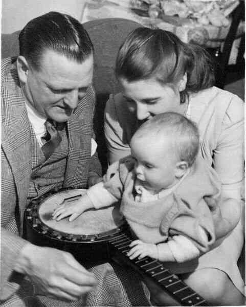 Baby With Banjo, early 1950s