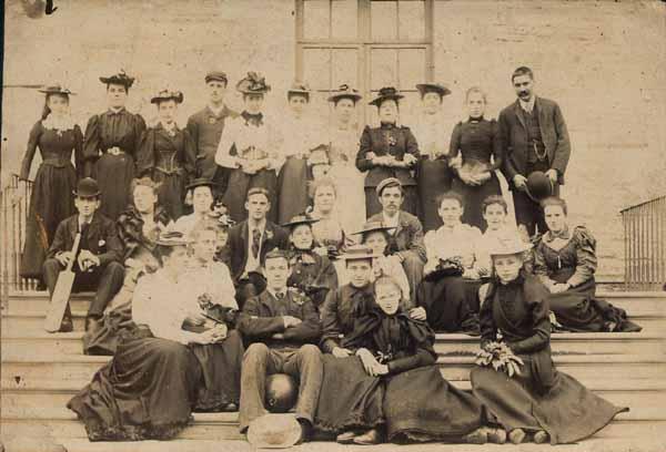 Victorian/Edwardian Sports Club c.1900
