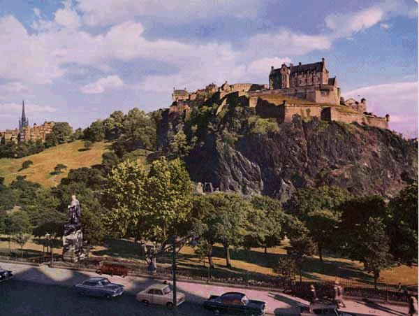 Edinburgh Castle c.1960