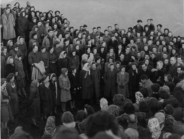 Arthur's Seat May Day Service c.1947