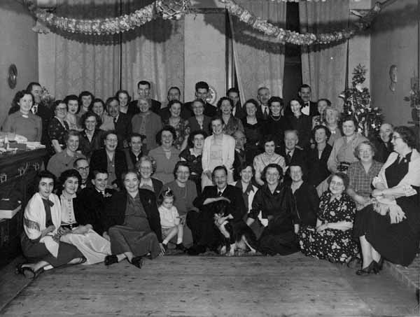 Large Christmas Get-Together, early 1950s