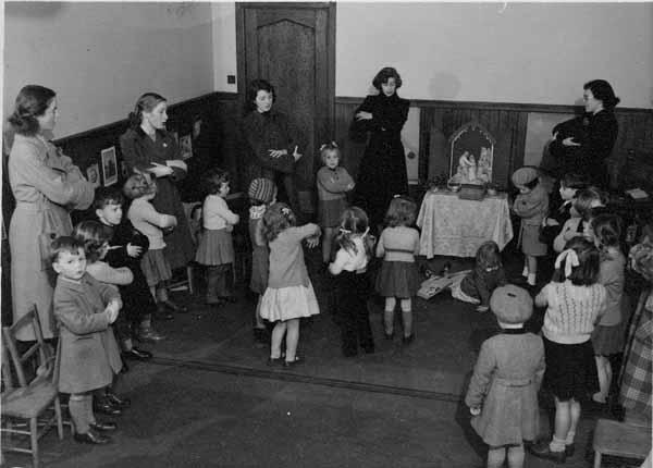Sunday School Nativity, early 1950s