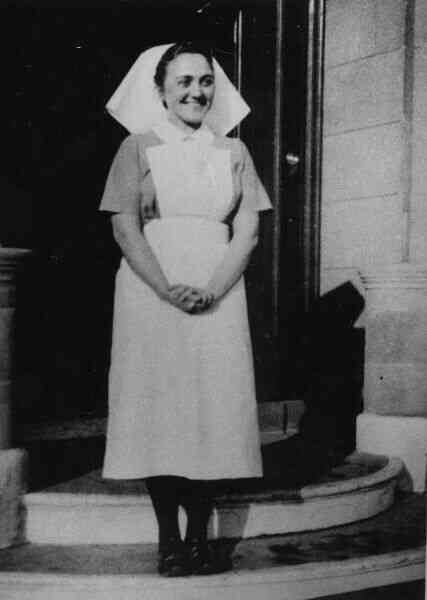 Maternity Nurse At Elsie Inglis Maternity Hospital c.1938