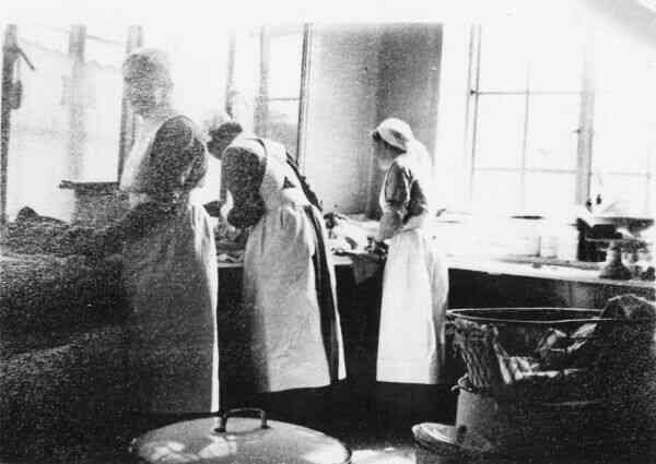 Maternity Nurses At Work c.1938