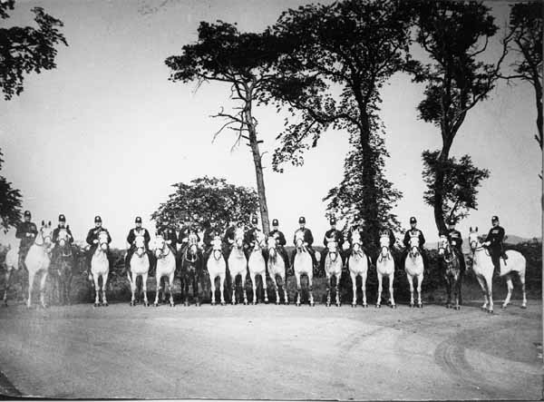 Mounted Police 1930s