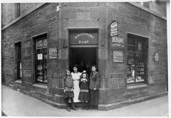 Kingsknowe Dairy On McNeil Street 1924