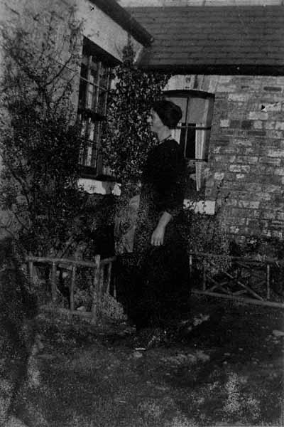 Woman In Garden c.1930