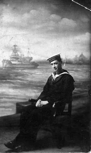 Studio Portrait Sailor c.1918