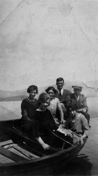 Boat Trip On Loch Lomond 1930