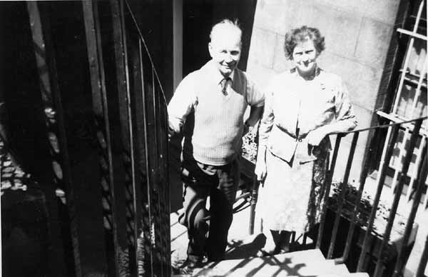 Couple At The Bottom Of The Steps 1963