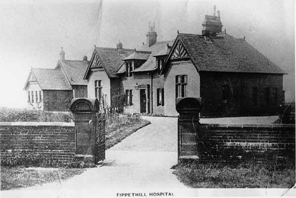 Tippethill Hospital At Armadale c.1922