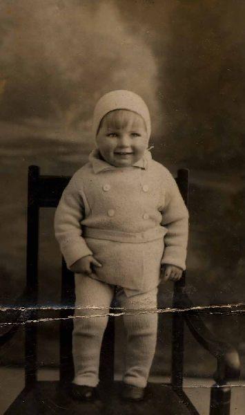 Studio Portrait Young Child 1932