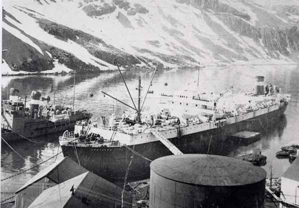 Salvesen Whaling Ship 1950s