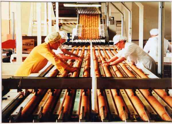 Burton's Biscuits Rich Tea Line 1992