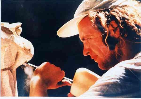David Lindsay Stonemason 1995