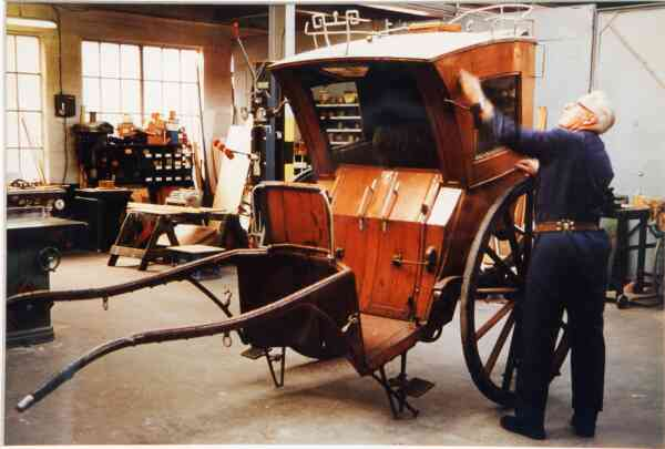 Scotmid Coach Works Sanding And Varnishing 1992