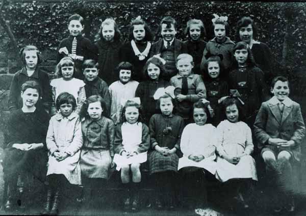School Class Portrait 1930s