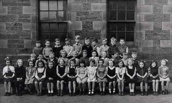 Primary School Class Portrait 1950s