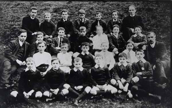 School Class Portrait 1920s