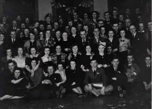 Dalry Ward Ambulance Depot Christmas Party, 22nd Dec 1939