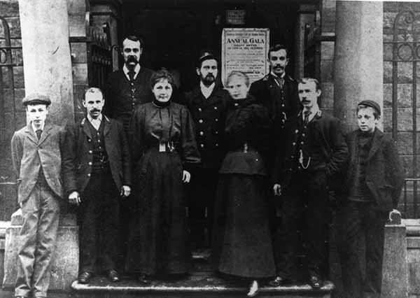 Possibly The Staff At Dalry Baths 1910s