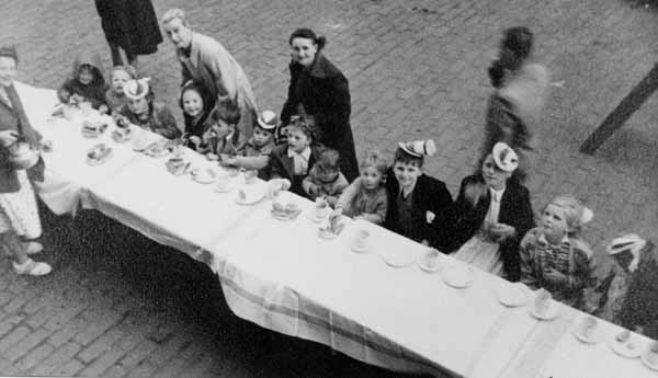 Coronation Day Street Party At Newton Street, Gorgie, 2nd June 1953
