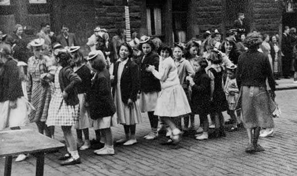 Coronation Day Street Party At Newton Street, Gorgie, 2nd June 1953