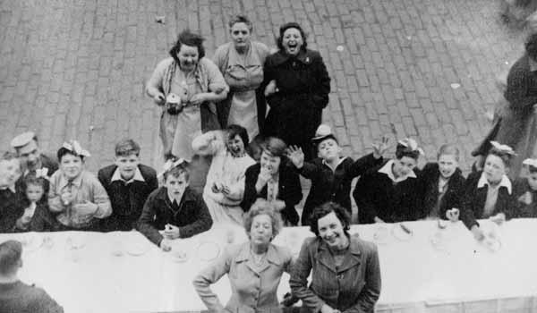 Coronation Street Party At Newton Street, Gorgie, 2nd June 1953