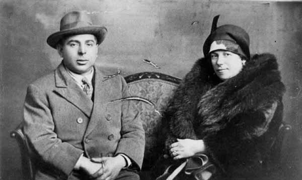 Studio Portrait Man And Woman c.1930