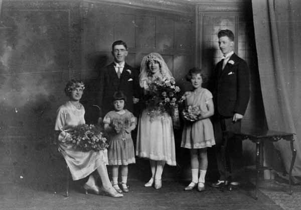 Wedding Day Portrait c.1930