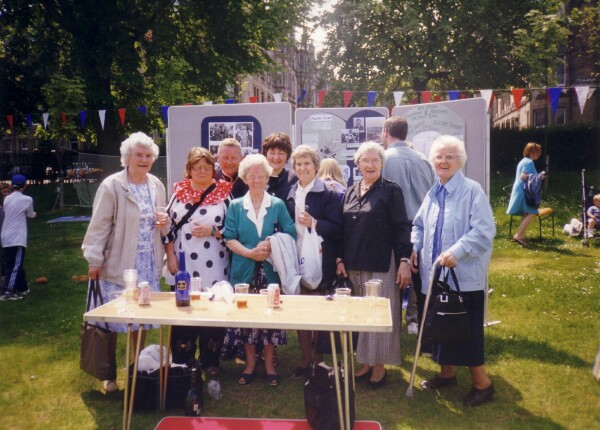 Calton Reminiscence Group Holding Outdoor Stall c.2003